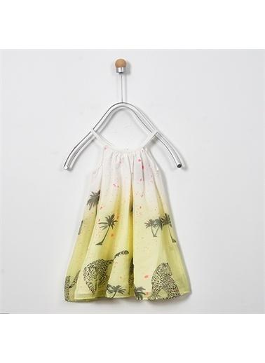 Panço Elbise 19126261100 Sarı